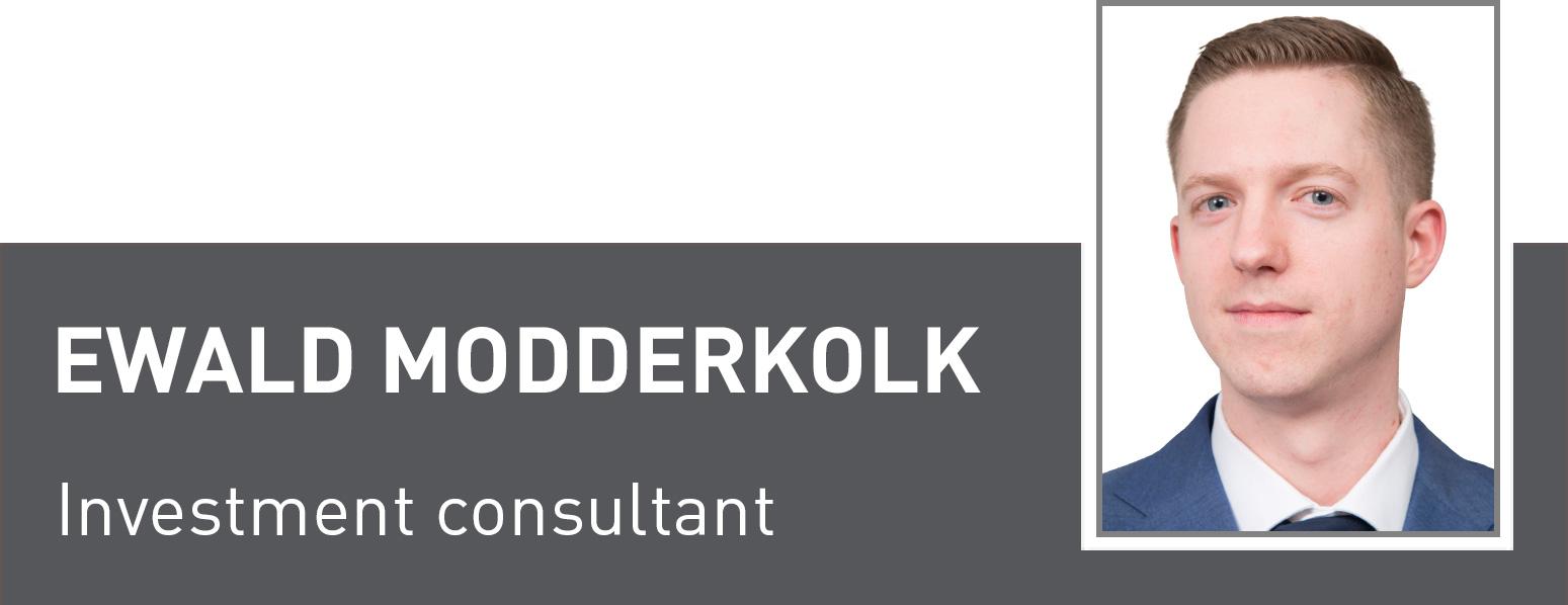 Ewald Modderklok, Investment consultant