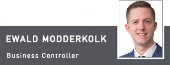 Ewald Modderkolk, Business Controller