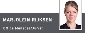 Marjolein Rijksen, Office Manager, Juris